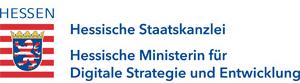 Logo Hessische Ministerin für Digitale Strategie und Entwicklung